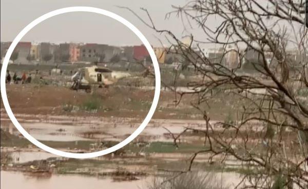 صورة إنزكان | إنقاذ خمسة أشخاص كانوا محاصرين عند مصب واد سوس