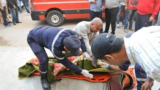صورة انتحار ستيني بطريقة مأساوية بعد طعنه زوجته بطنجة