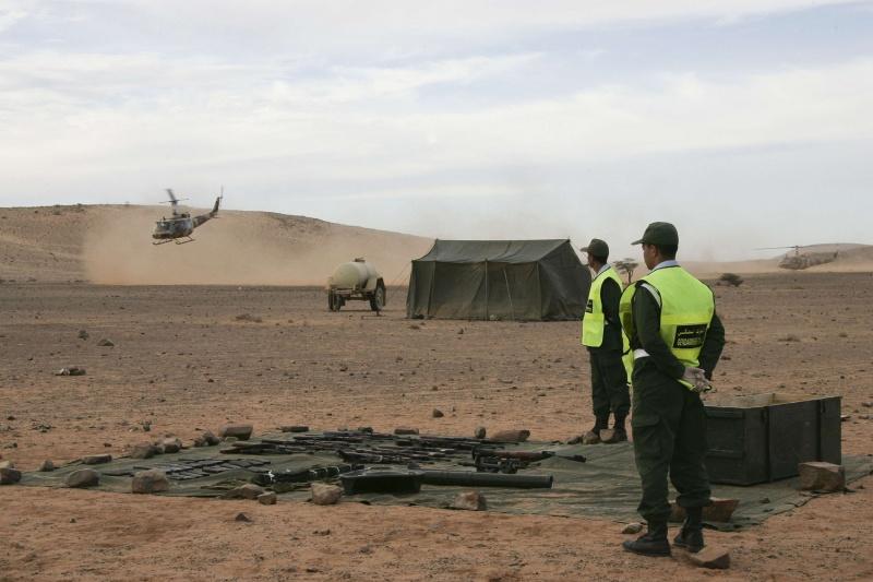 """صورة البوليساريو"""" تزعم قصف الكركرات والرباط الوضع هادئ وطبيعي"""