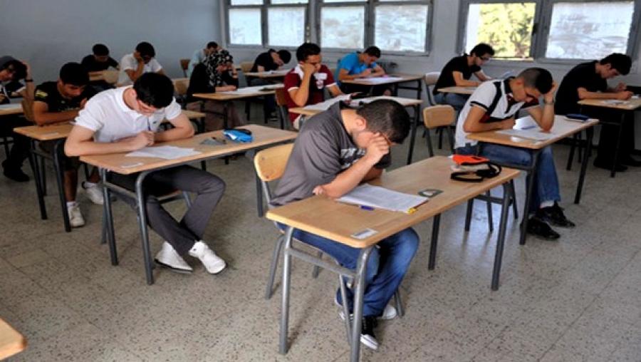 صورة تلاميذ يهود ومسلمون يدرسون جنبا إلى جنب بثانوية ابن ميمون
