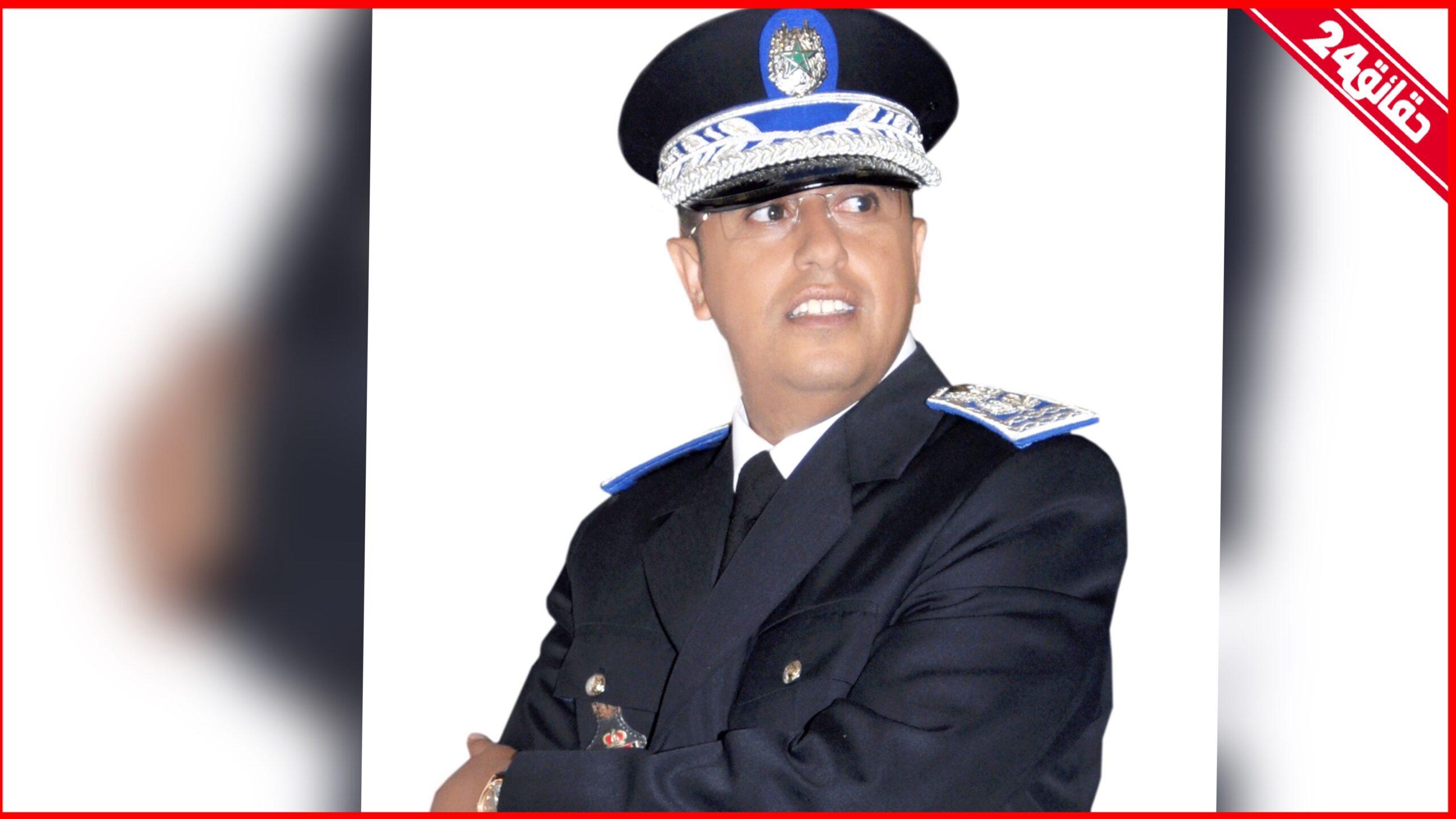 """صورة الحموشي يعين """" كمور """" رئيسا لمنطقة أمن ميناء الدار البيضاء"""