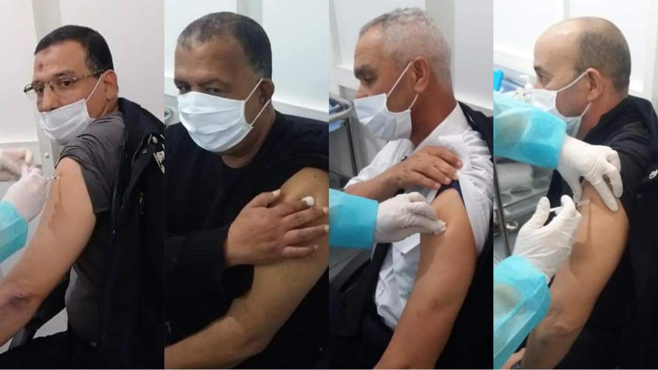 صورة انطلاق عملية التلقيح في صفوف رجال ونساء الأمن بأسفي
