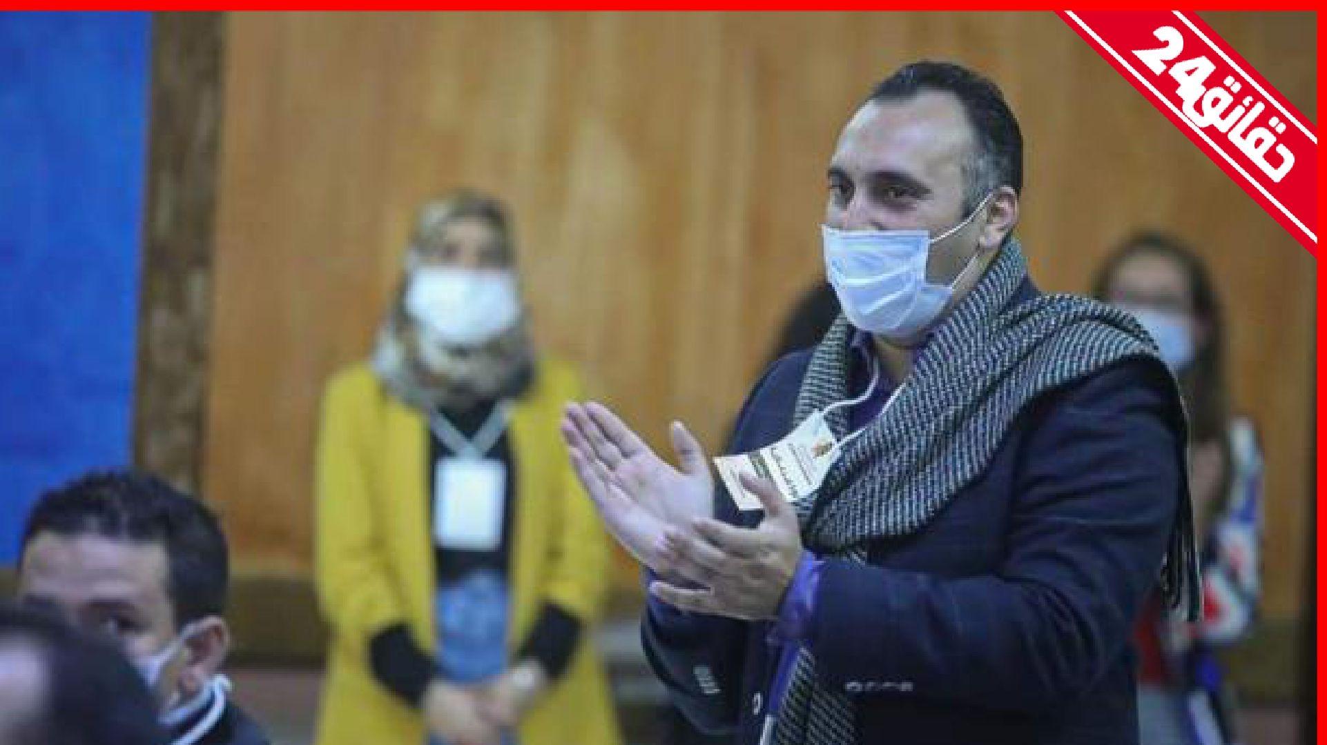 صورة انتخاب اسحاق شارية أمينا عاما للحزب المغربي الحر خلفا لزيان