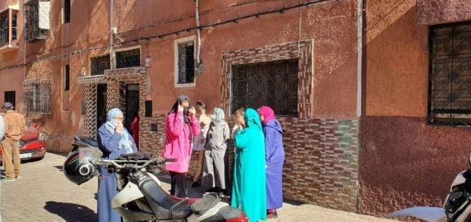صورة مواطنون يلقون القبض على لصين بعد عملية سرقة خاطفة لفتاة بمراكش