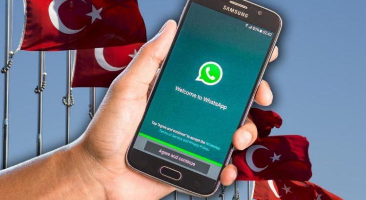 """صورة هجرة عالمية نحو تطبيق تركي بديل لـ """"واتساب"""""""