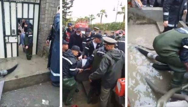 صورة فاجعة .. الأمطار تتسبب في وفاة 24 شخص بطنجة
