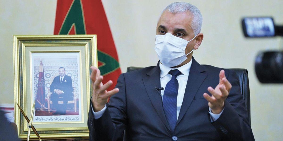 صورة وزير الصحة : المغرب يسعى لتحقيق مناعة جماعية في فترة لا تتجاوز 5 أشهر