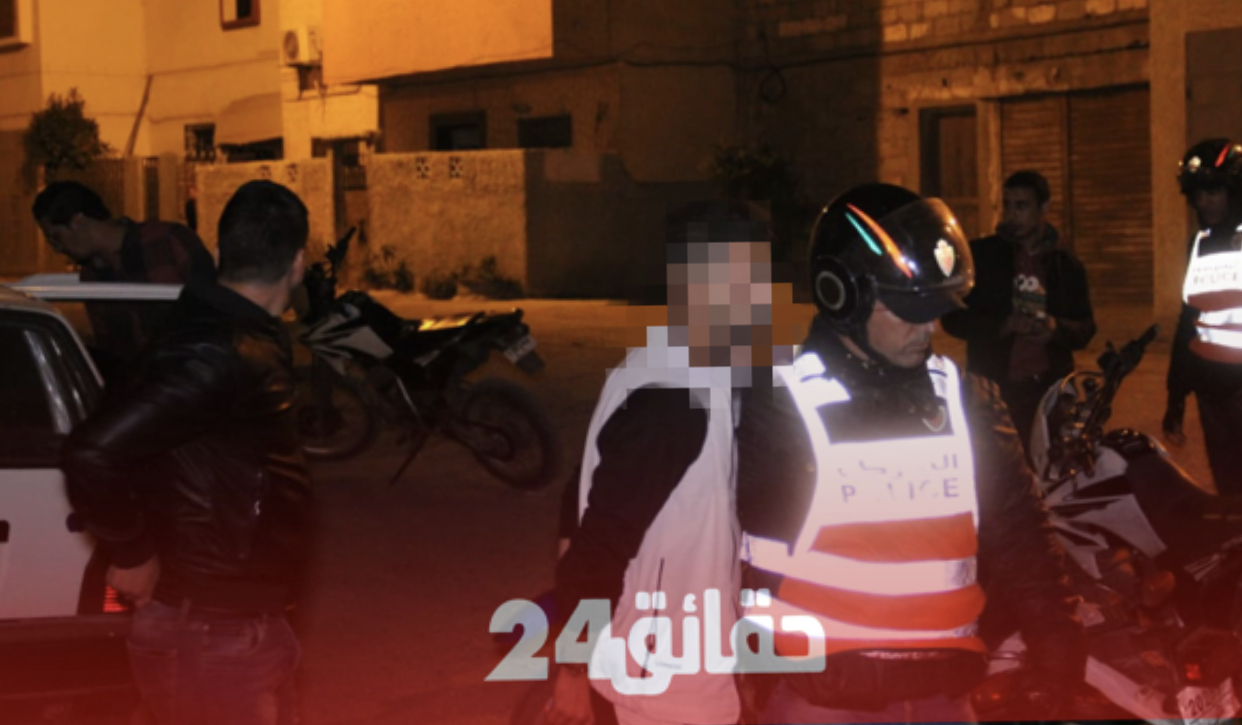"""صورة 40 سنة سجنا لأفراد عصابة """"الكريساج"""" بأكادير"""