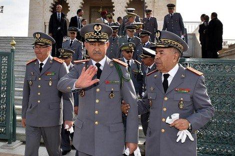 صورة الجدل يرافق تنقيل عقيد و رائد بالقوات المساعدة بأسفي