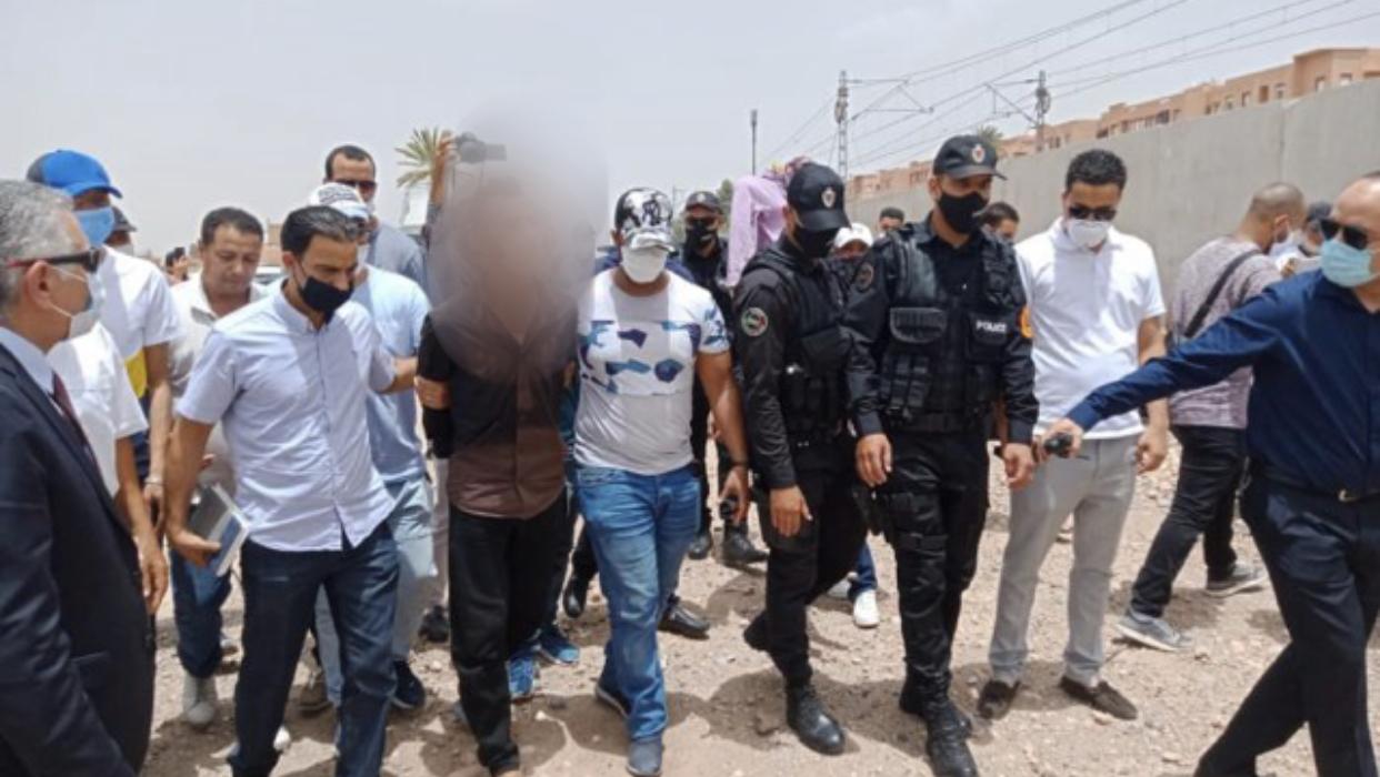 """صورة عصابة لتجارة """" المتلاشيات"""" وراء مجزرة سلا"""