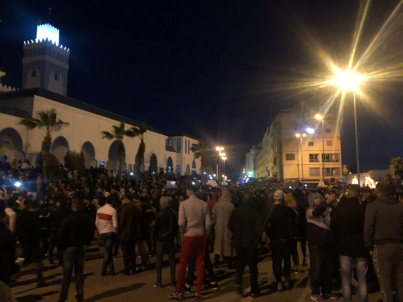 صورة ساكنة الفنيدق تعود للإحتجاج