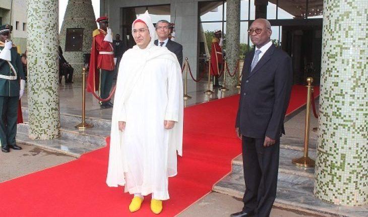 صورة إطلاق الرصاص على السفير المغربي في بوركينا فاسو