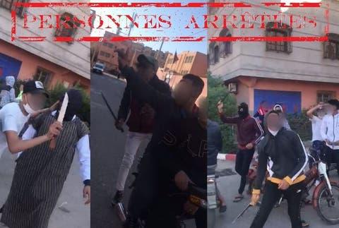 صورة العنف بالسيوف يجرّ 3 أشخاص إلى التوقيف بمراكش