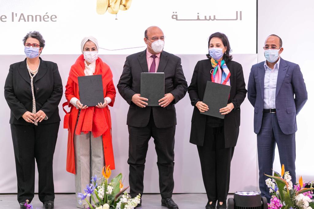 صورة توقيع اتفاقية شراكة الداعمة للمؤسسات التعليمية بجهة مراكش -أسفي