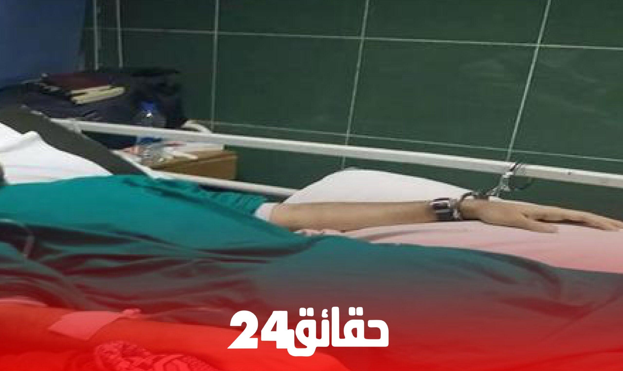 صورة قتل والدته وأضرم النار في جسده .. إنتحار شخص كان رهن الحراسة الطبية برمي نفسه من نافذة المستشفى