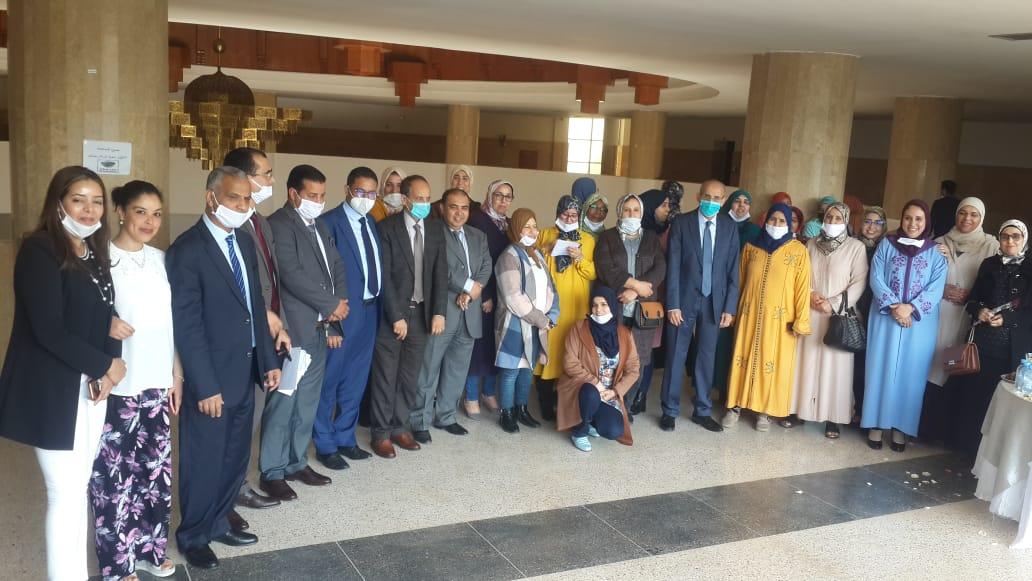 صورة في اليوم العالمي للمرأة محكمة الإستئناف بأكادير تحتفي بنسائها