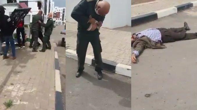 صورة وفاة الشخص الذي طعن قائد بالدار البيضاء
