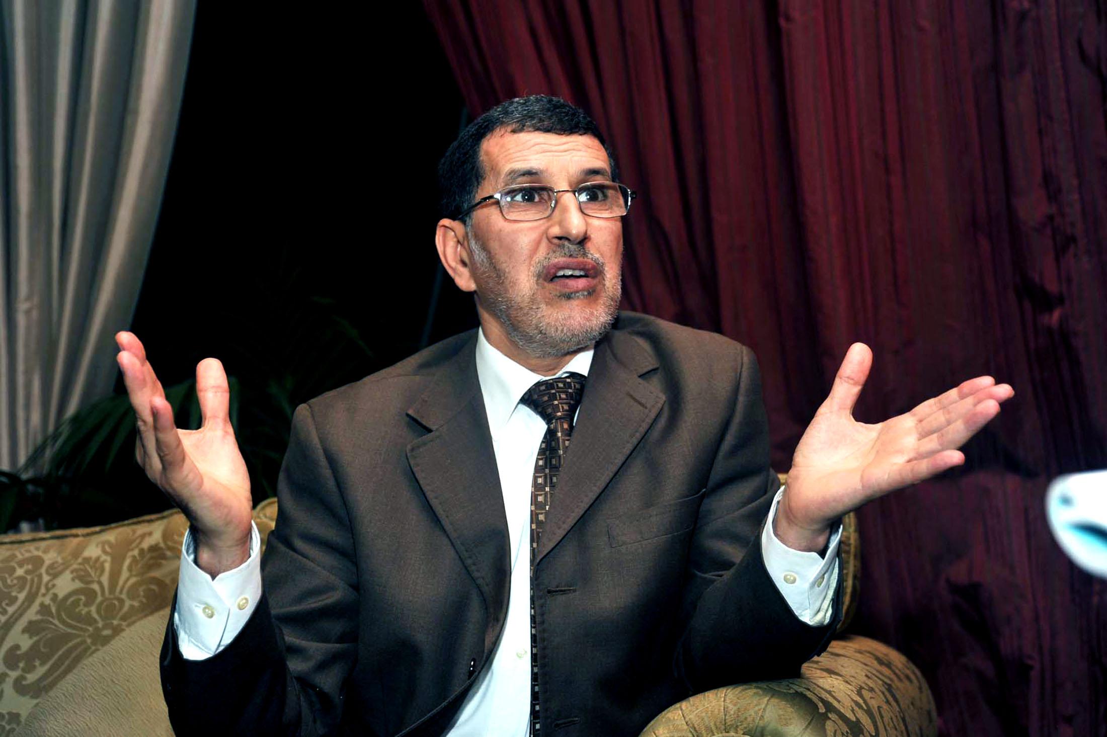 صورة العثماني : لا نفكر في الانتخابات بل في خدمة بلدنا