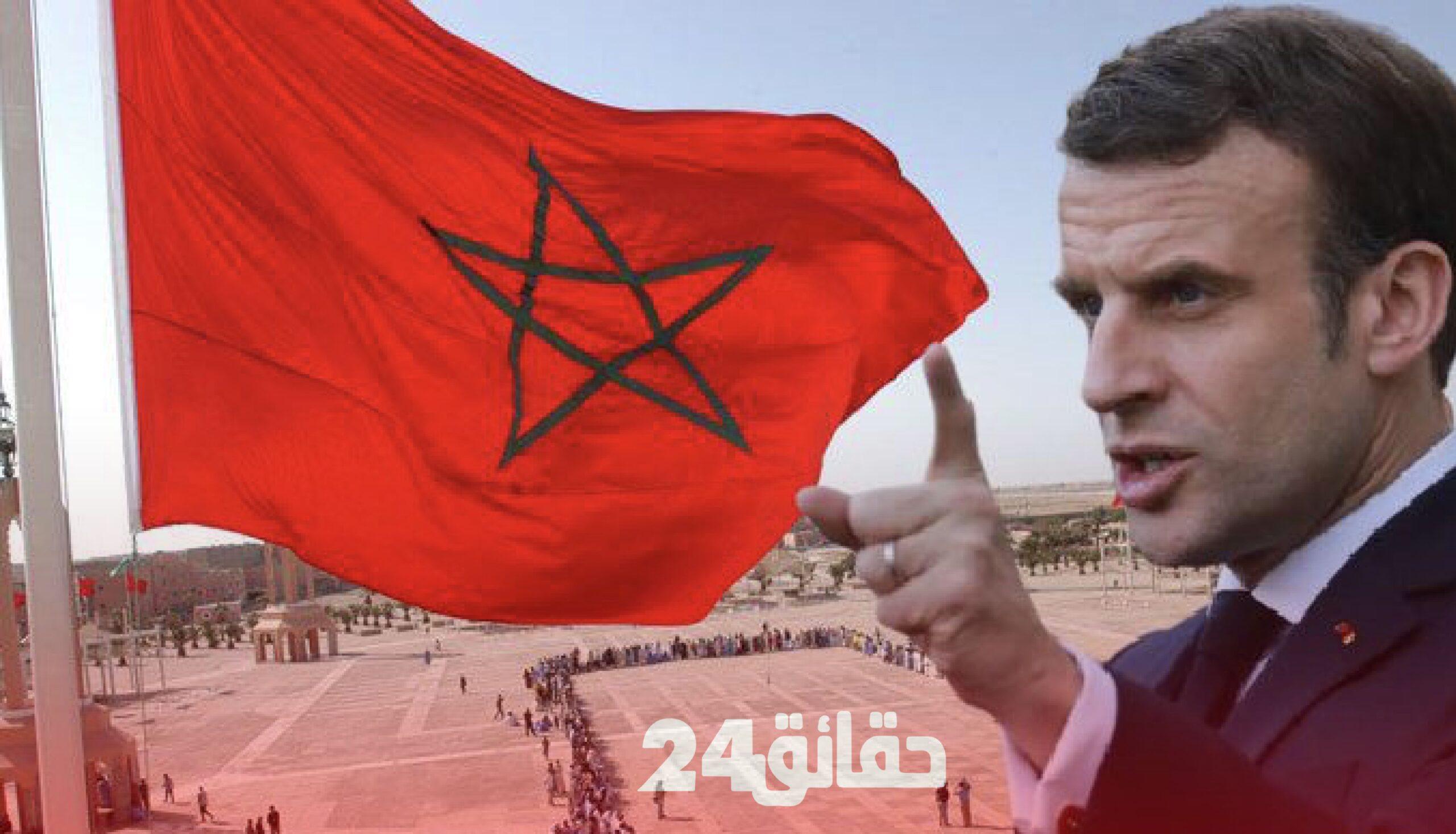صورة صحيفة .. فرنسا جاهزة للاعتراف بمغربية الصحراء