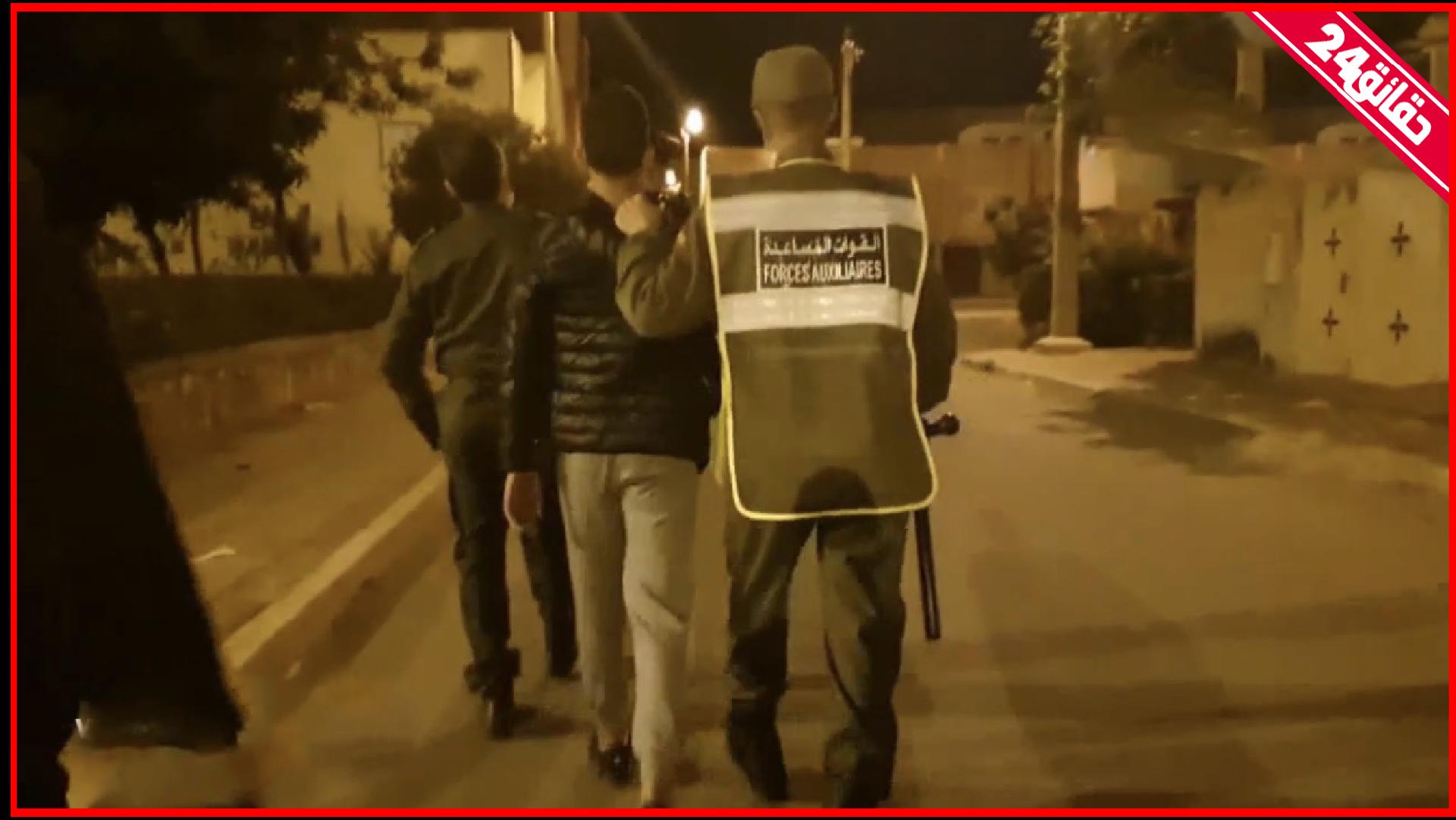 صورة أكادير | أعمال شغب رافقت احتجاجات التراويح بحي تدارت بأنزا