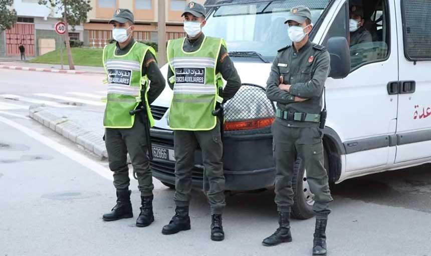 """صورة """"مخزني""""  يتعرض لمحاولة قتل أثناء حملة لتنظيم سوق المحاميد بمراكش"""