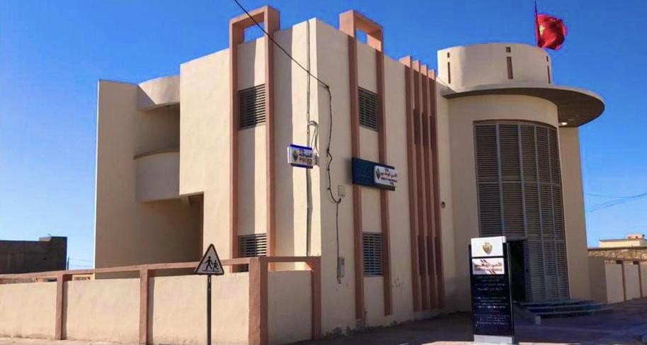 """صورة افتتاح المقر الجديد لدائرة الشرطة """"المسيرة"""" بمدينة الداخلة"""