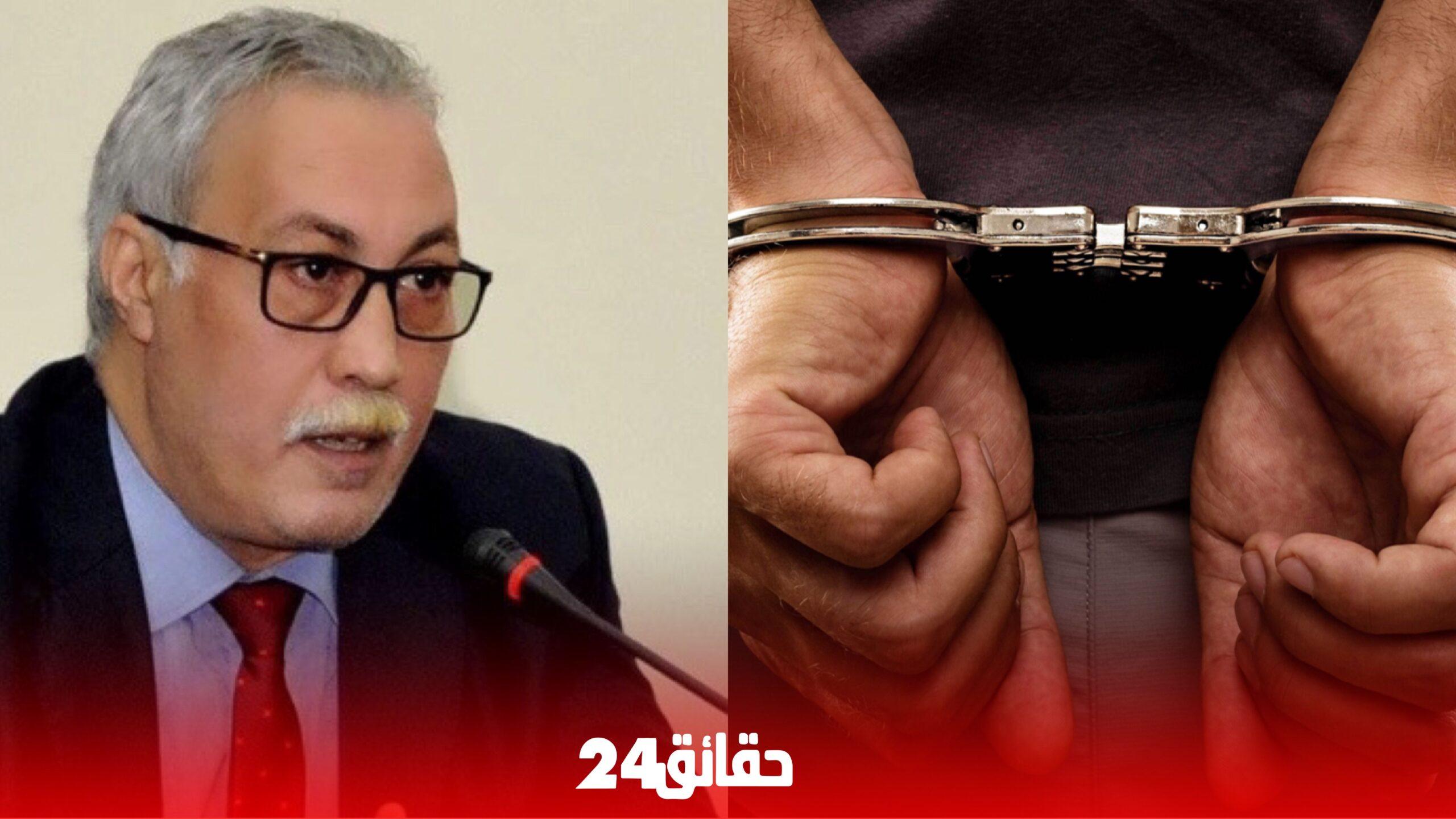 """صورة إعتقال رئيس جماعة """" لوطا"""" تمرد على قرار الحكومة"""
