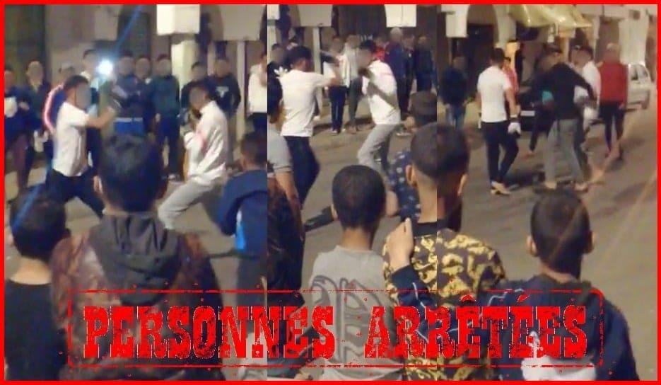 صورة نزالات ليلية في الملاكمة تنتهي باعتقال مجموعة من الأشخاص