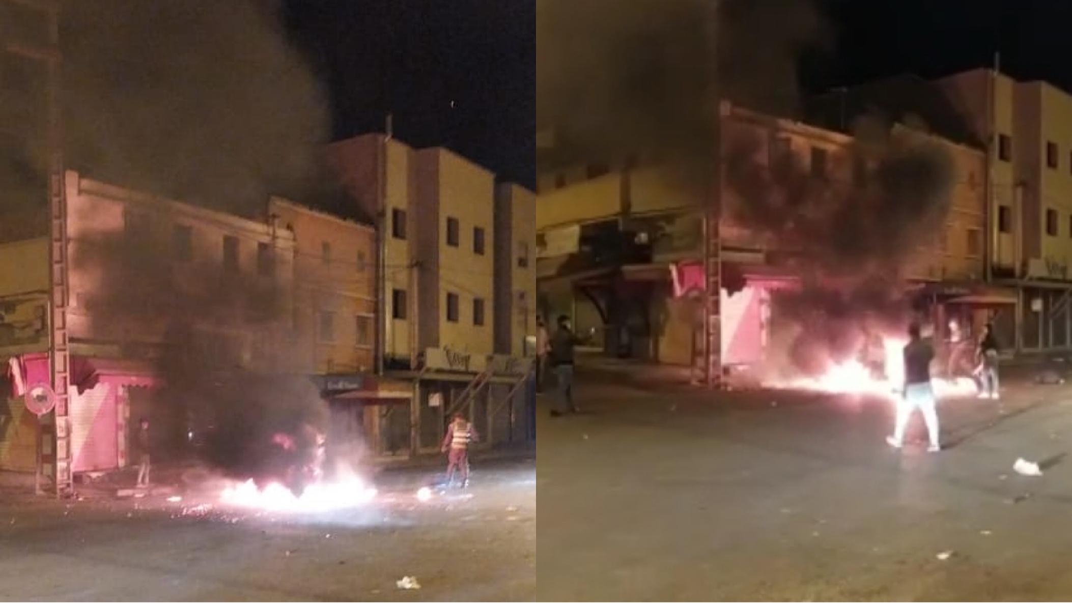 صورة ليلة بيضاء بإنزكان .. اعتقال عشرات القاصرين لخرقهم الطوارئ ومهاجمة الأمن بالحجارة