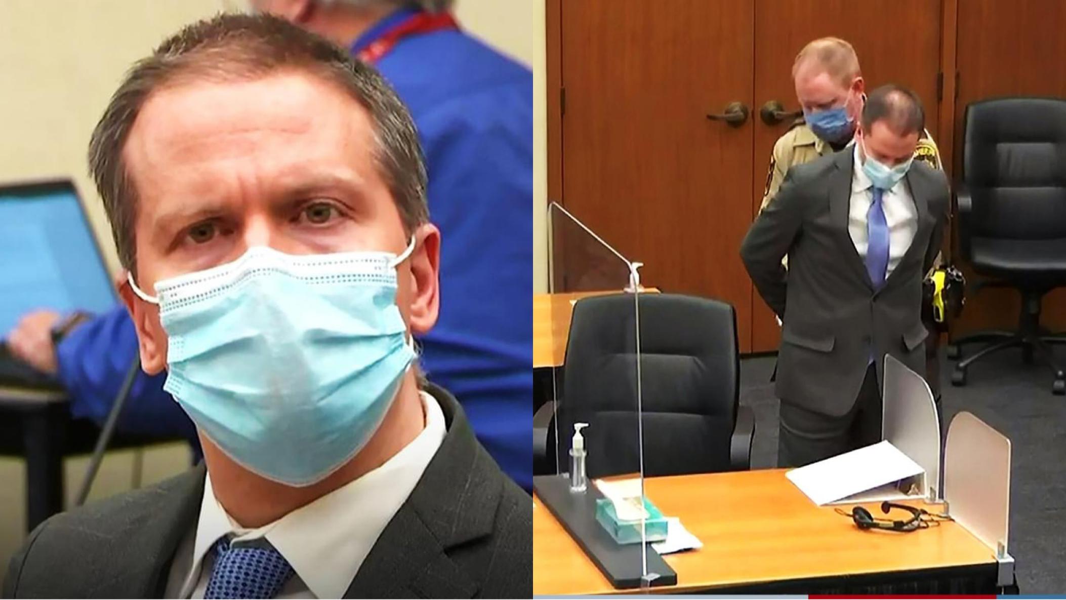 """صورة بايدن : إدانة قاتل جورج فلويد """"خطوة كبيرة"""" في طريق العدالة"""
