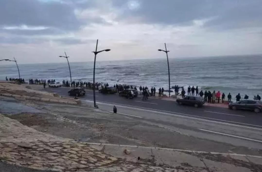 """صورة اعتقال عدد من """"الحراكة"""" بالفنيدق"""