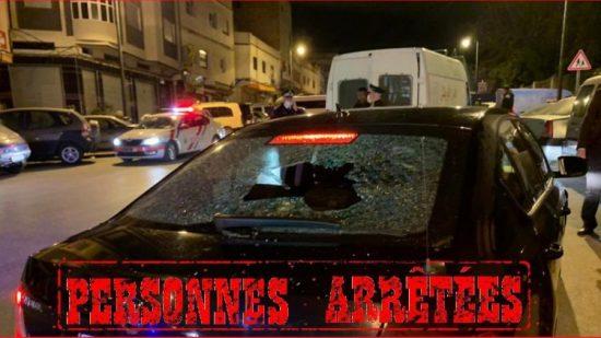 صورة طنجة | اعتقال 4 أشخاص خرقوا حالة الطوارئ  وألحقوا خسائر بممتلكات عامة