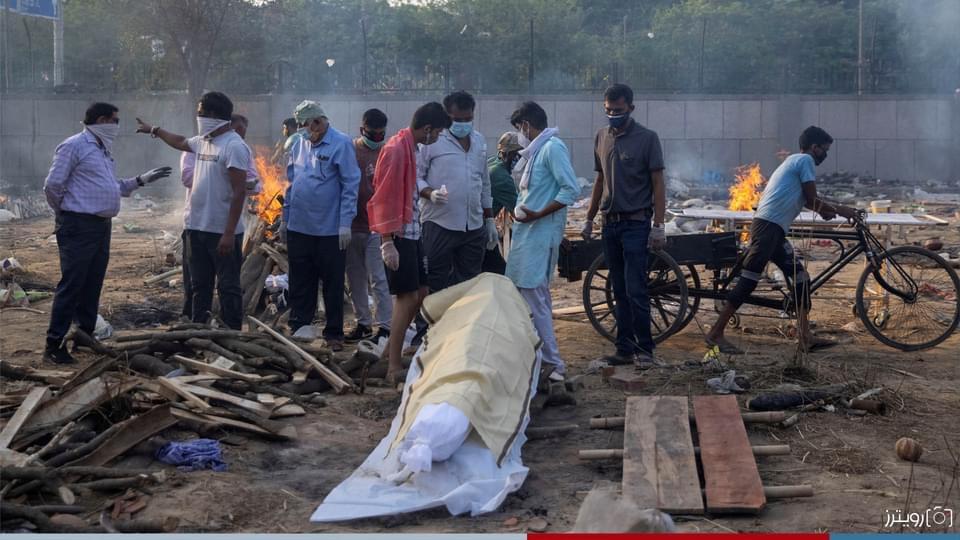 صورة الهند تستغيث .. رقم قياسي يومي في عدد المصابين ووفاة كل 4 دقائق