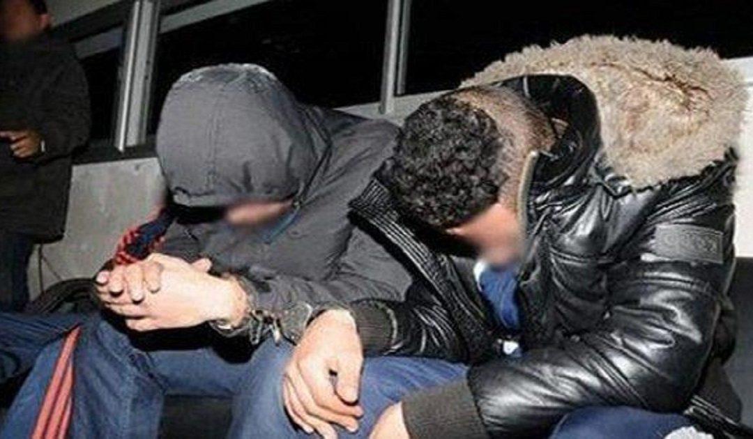 صورة اعتقال شخصين متورطين في احتجاز واغتصاب سيدة بالعرائش