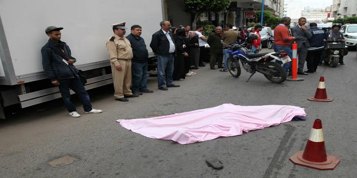 صورة إنتحار محامي برمي نفسه من عمارة سكنية