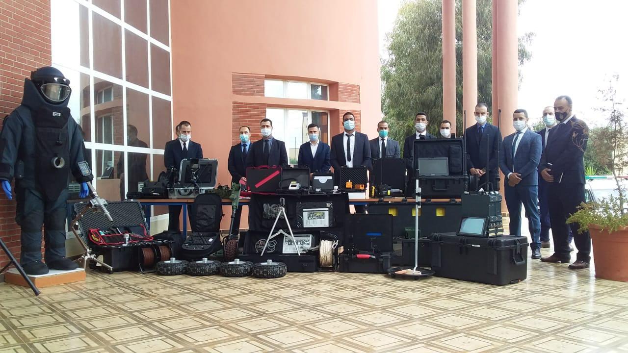 صورة إحداث فرقة جهوية للمتفجرات بمدينة وجدة