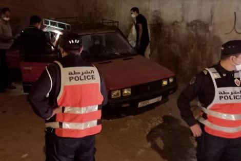 صورة العثور على جثة بالصندوق الخلفي لسيارة يستنفر الأمن