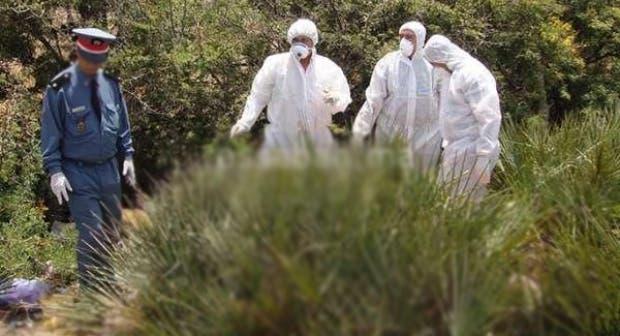 صورة العثور على جثة إفريقي معلقة وسط ضيعة نواحي أكادير