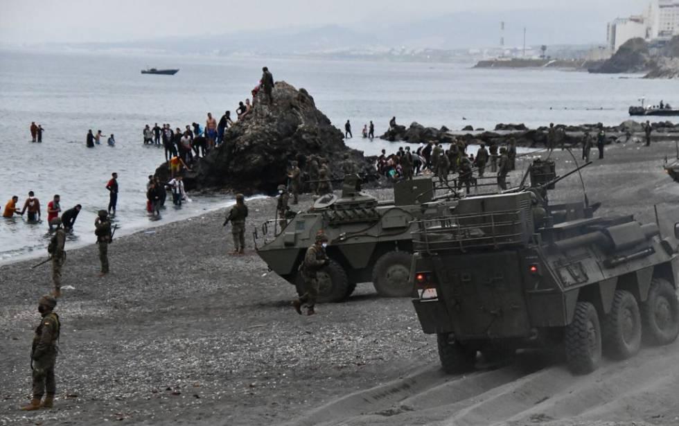 صورة تصعيد خطير .. اسبانيا تعتزم  تحويل سبتة ومليلية إلى منطقتين عسكريتين