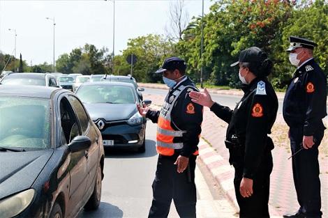 صورة بعد الضجة .. وزارة النقل تنفي الأخبار الزائفة حول مخالفات مدونة السير على الطرق 2021 !