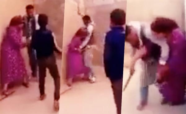 صورة السجن 8 أشهر للزوج الذي عنّف زوجته أمام أطفاله