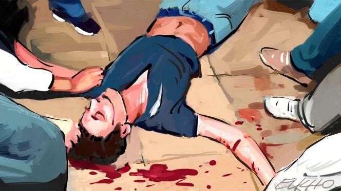 صورة شجار بين شقيقين توأم وتلميذ ينتهي بجريمة قتل بأسفي