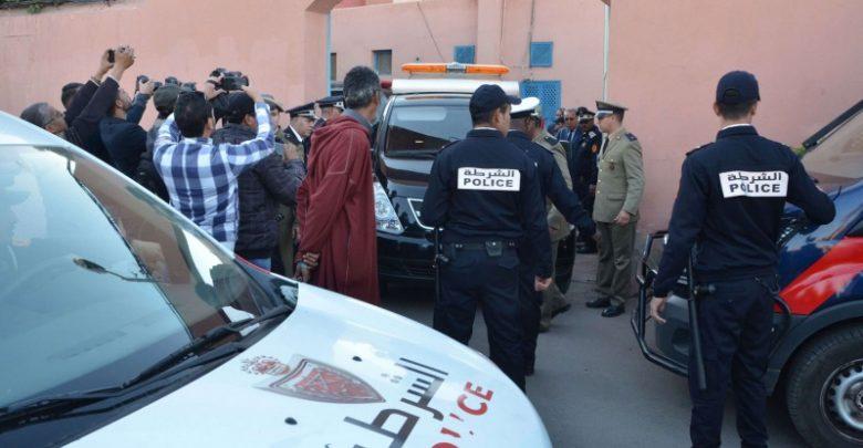 صورة اعتقال ستة أشخاص متطرفين متورطين في افتعال حوادث سير للنصب وتسخير العائدات الإجرامية في تمويل مشاريع إرهابية