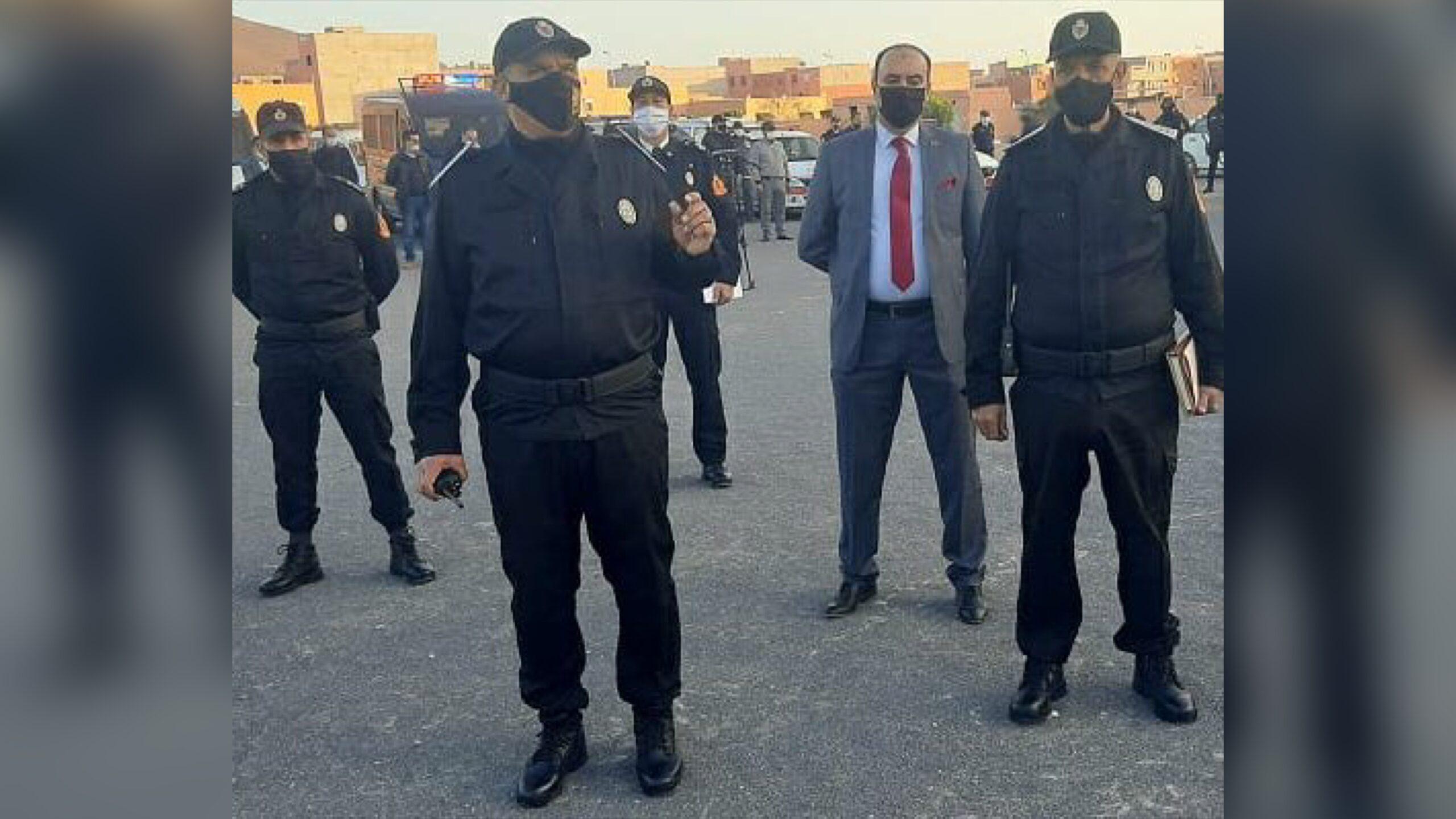 صورة كلميم تتعزز بفرقة أمنية خاصة لمكافحة الجريمة