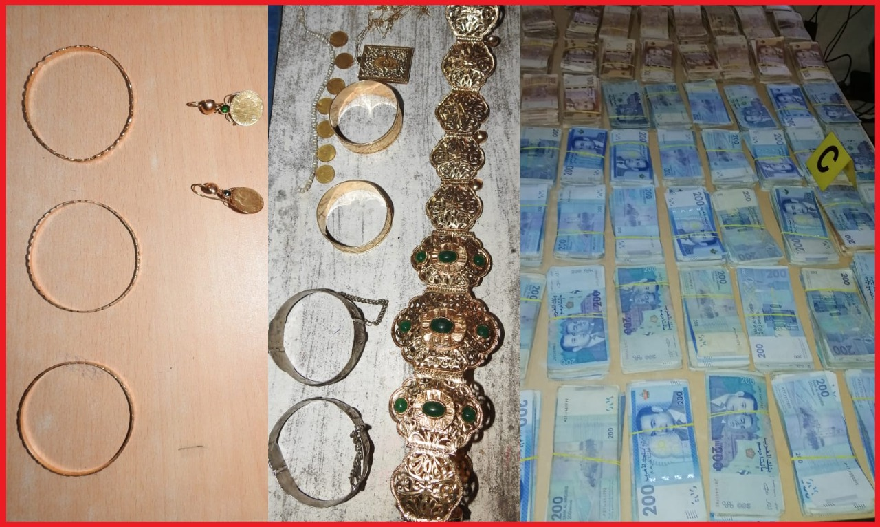 صورة إنزكان.. توقيف شقيقين وامرأة متورطين في سرقة مجوهرات ومبلغ 62 مليون من داخل شقة سكنية