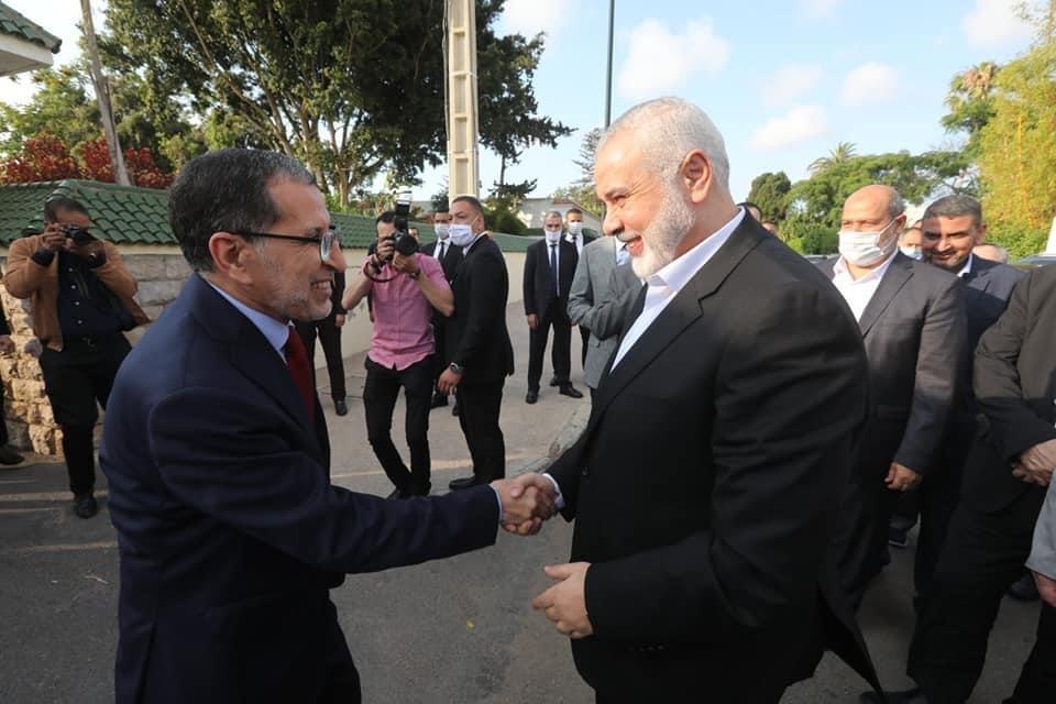 صورة حماس هدفها ليس العدالة والتنمية