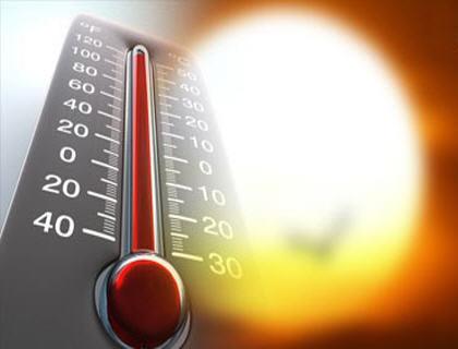 صورة الحرارة تصل إلى 46 درجة بعدة مناطق في المغرب