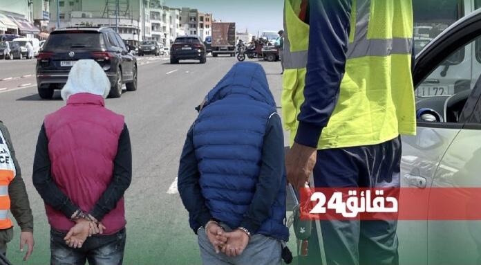 """صورة طلبوا وكيل الملك بـ""""20 درهم"""" مقابل ركن السيارة .. 3 أشهر سجنا نافذ في حق 6 حراس المرابد"""