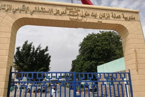 صورة المستشفى الإقليمي لإنزكان بدون طبيب ولادة