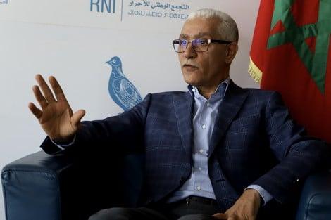 صورة الطالبي العلمي : غنعطيو 2500  للمواطن المغربي ولي مشدهاش يجري علينا بالحجر